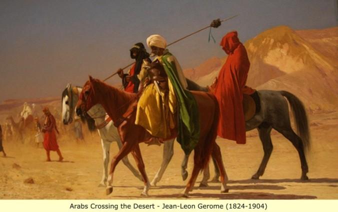 Arabs_Crossing_the_Desert